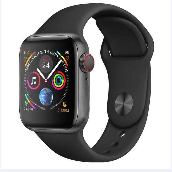 new product 80ac6 a6b5a Series 4 IWO 8 PLUS 44mm smartWatch 4 1:1 Heart Rate Smart Watch case for  apple iPhone Android phone