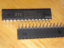 Freeshippng      STC12C5204      STC12C5204AD     STC12C5204AD-35I-DIP28 10pcs lot stc15f2k16s2 35i lqfp44 stc15f2k16s2 35i stc15f2k16s2 qfp original electronics ic kit