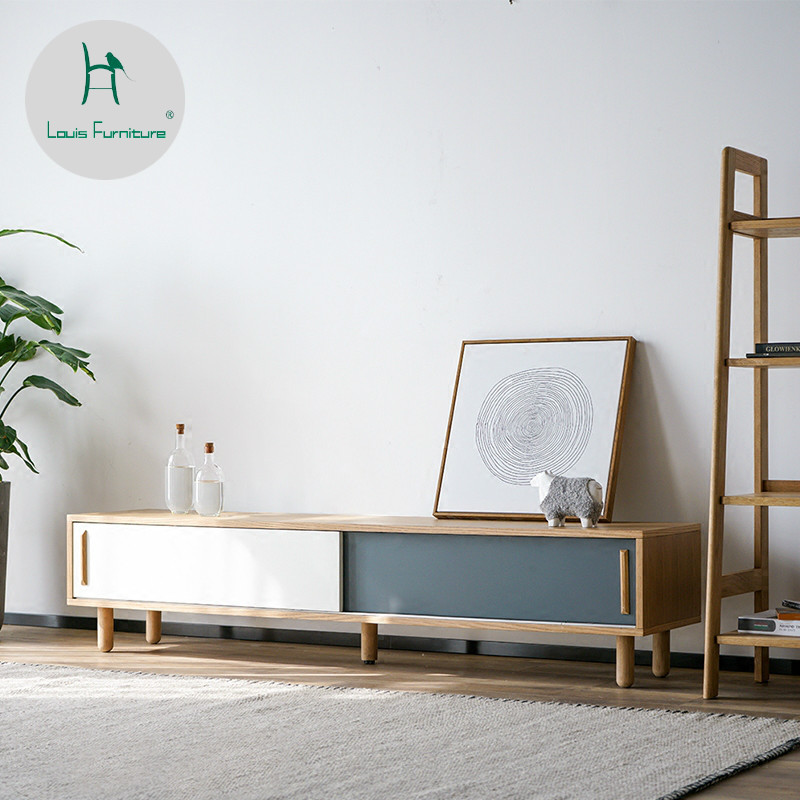 Living Room Furniture St Louis: Louis Fashion TV Stands Nordic Combination Small Apartment