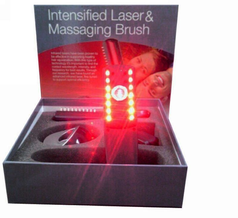 New Hair Care Laser Hair brush Restoration Comb Massage Comb Kit HAIR LOSS CARE GROWTH INFRARED Comb Brushes Drop Shipping