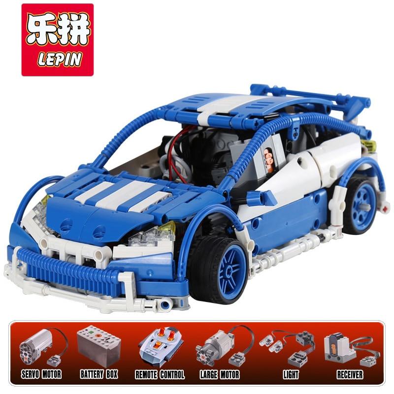 Lepin 20053B 640 Pcs Genuine New Technic Series The Hatchback Type R Set MOC-6604 Building Blocks Legoing Bricks Educational lepin 20053