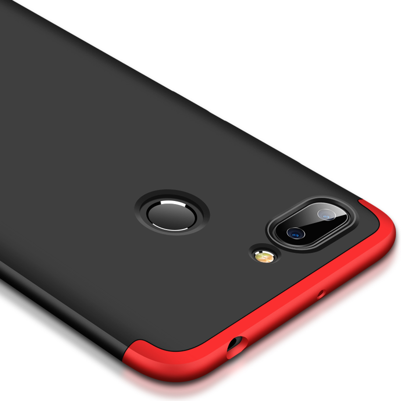 "Image 5 - Xiaomi Redmi 6 Case 360 Degrees Full Shockproof Phone Case on for Funda Redmi 6 Redmi6 Xiomi 5.45"" Cases Cover 3 in 1 Men women-in Fitted Cases from Cellphones & Telecommunications"