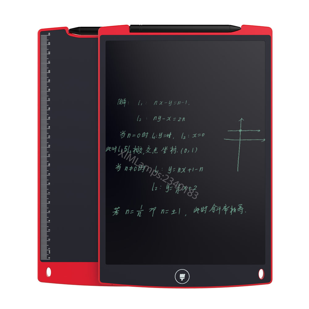 8.5 Inch LCD Writing Blackboard/Whiteboard Teaching Kids Toy Memo Board for Drawing Playing Handwriting 90 106cm onshine adjustable child double side wooden magnetic blackboard whiteboard kids writing drawing toy eraser chalk marker
