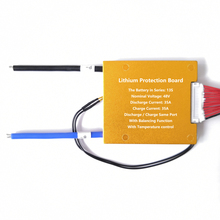 13 s 35A В 48 В батарея управление системы PCM PCB для 18650 литий ионный батарея пакет BMS с датчик температуры