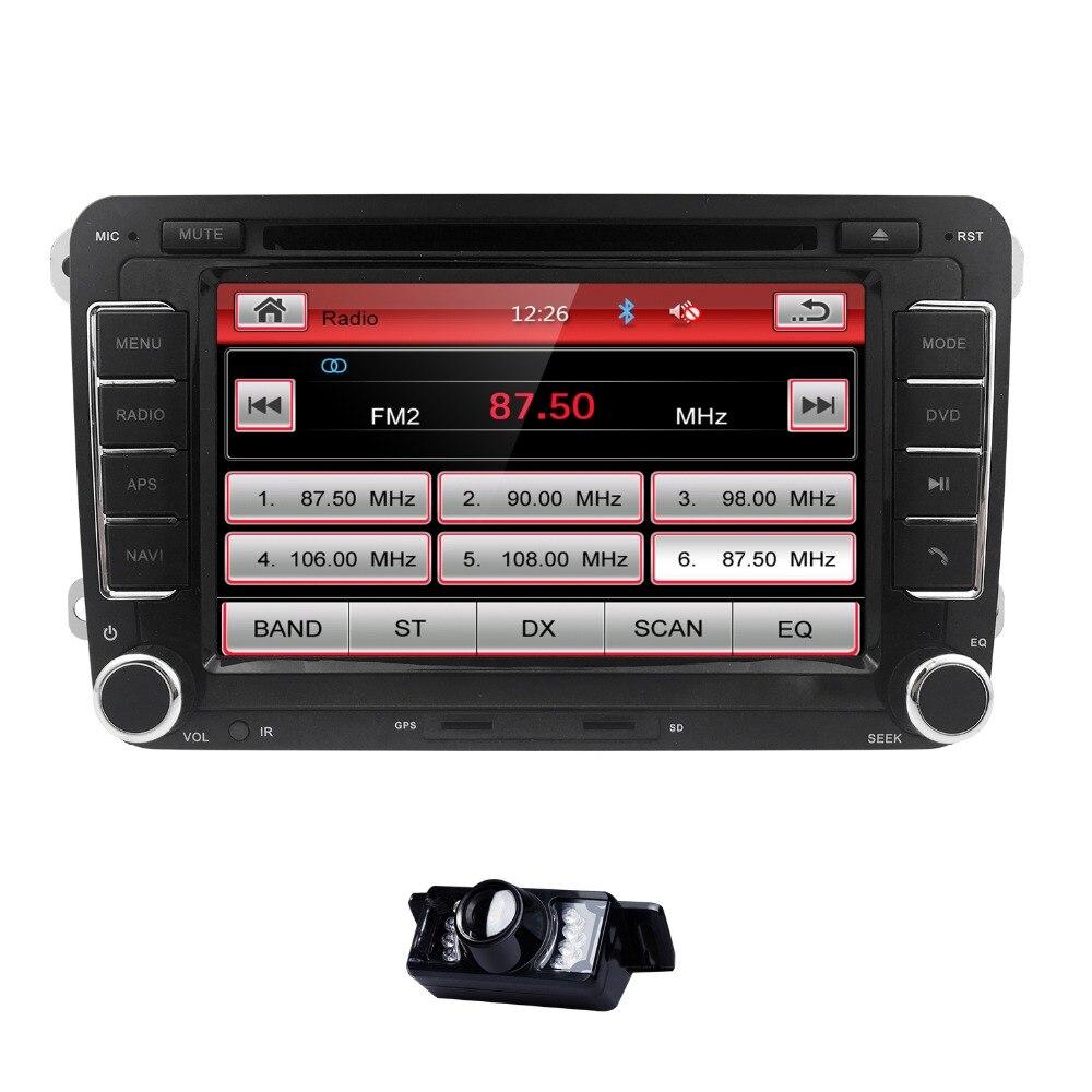 Hizpo Car Radio DVD Tape Recorder Audio for skoda octavia limousine combi fabia roomster patrick superb steering wheel control