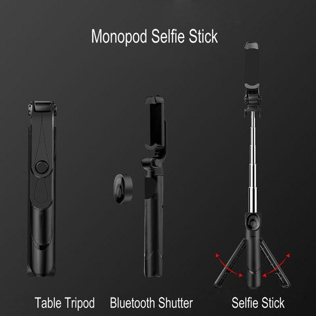 Bluetooth селфи палка штатив портативный беспроводной контроль монопод Ручной мини селфи палка для iPhone Samsung Xiaomi Selfiestick
