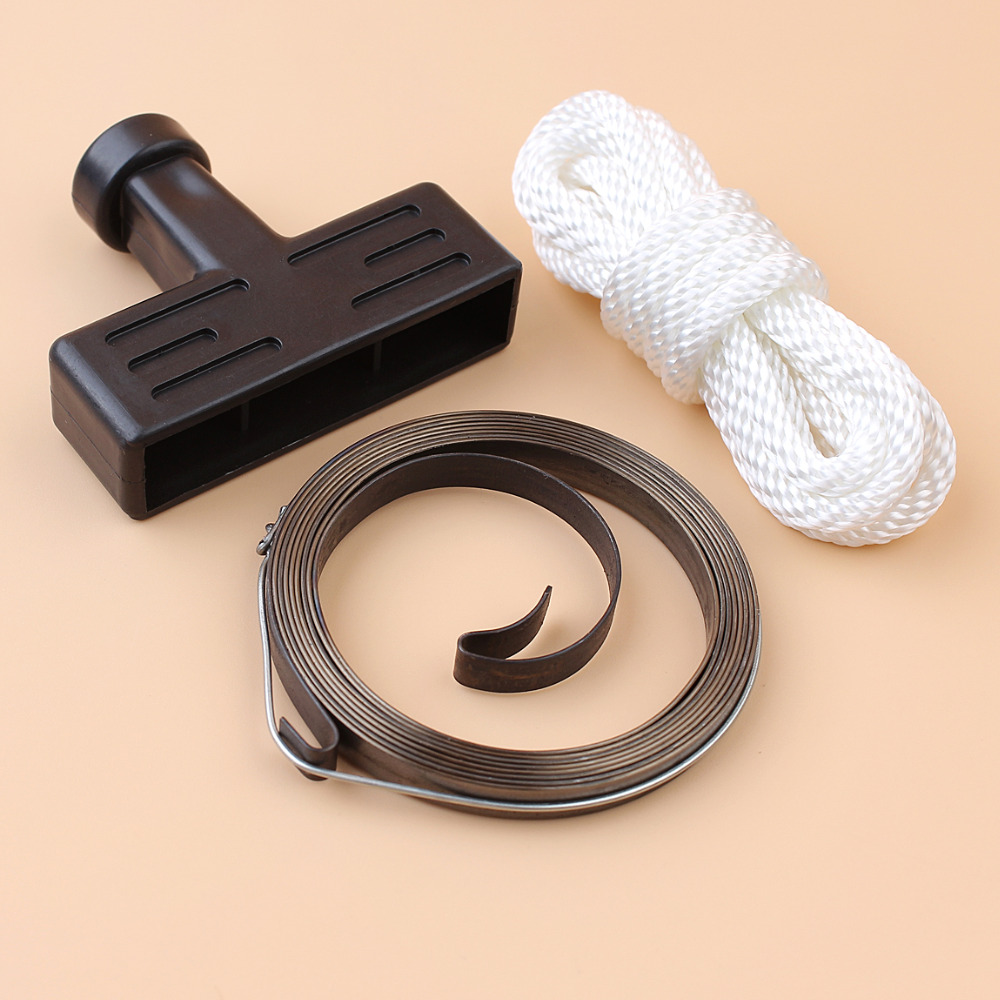Recoil Pull <font><b>Starter</b></font> Spring Handle Grip Rope Kit For <font><b>HONDA</b></font> GX120 <font><b>GX160</b></font> GX200 168F 170F 5.5/6.5hp Engine Motor Trimmer Brushcutter image