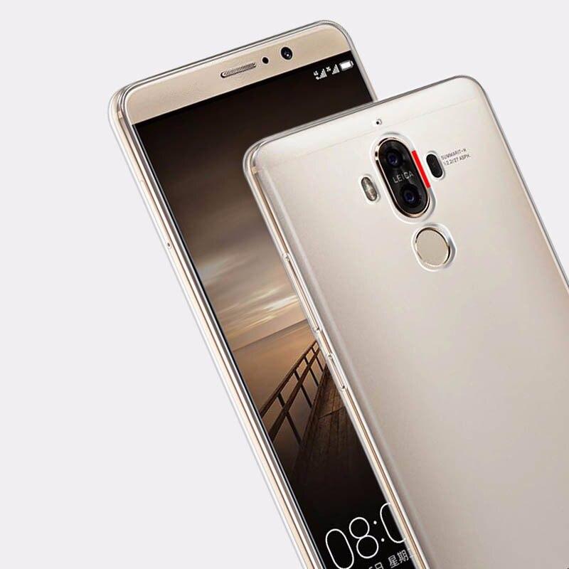 Huawei Mate9 Mate8 Mate7 Nova Case Anti-Scratch Clear Soft Gel TPU - Ανταλλακτικά και αξεσουάρ κινητών τηλεφώνων - Φωτογραφία 5