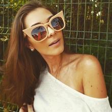 Nuevo ojo de gato gafas de sol de las mujeres los niños Vintage de  diseñador de marca e0caf03fb23f