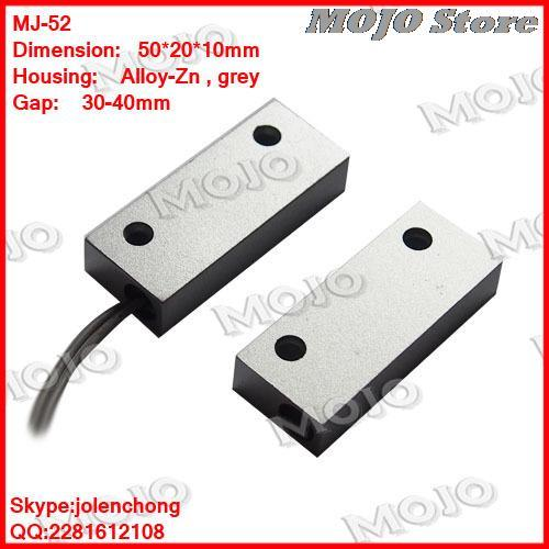 MJ-52 N.O type Metal housing (Alloy-zinc)alarm door switch  sc 1 st  AliExpress.com & MJ 52 N.O type Metal housing (Alloy zinc)alarm door switch-in ...