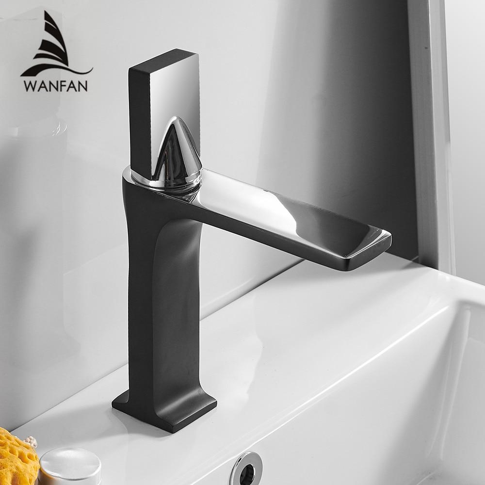 Basin Faucet Retro Black Faucet Taps Bathroom Sink Faucet Single ...
