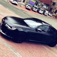 2018 New Black Frozen Satin Metallic Vinyl Wrap For Car Wrap Styling Covering Foil with Air Bubble Free Size 1.52x20m/Roll