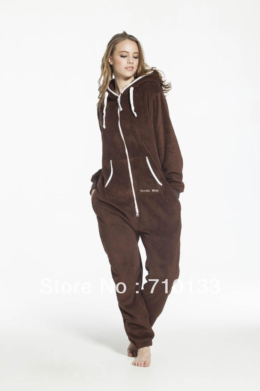 Un pezzo tuta all-in-one vestito unisex onesies età pile salto in tuta pagliaccetto tutina teddy fleece