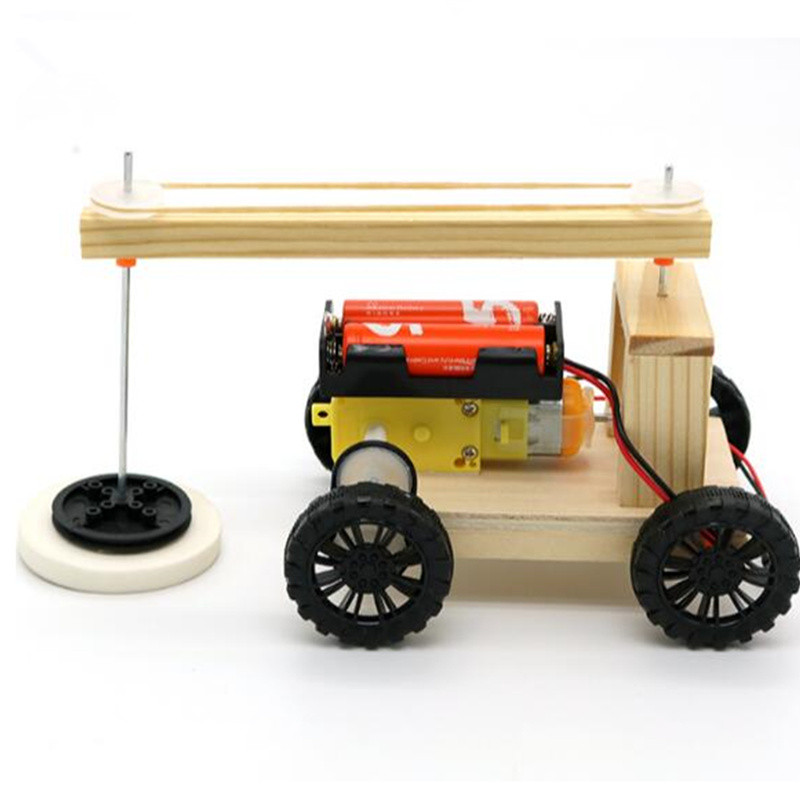 US $8 24 30% OFF|Happyxuan STEM Education Kits DIY Children Science Project  Discovery Toys Boy Creative Wooden Model School Physics Experiments on