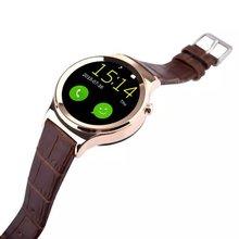 กันน้ำT3ดูสมาร์ทS3 S Mart W Atch K18สนับสนุนซิมการ์ดSDบลูทูธWAP GPRS SMSนาฬิกาMP3 MP4สำหรับA Ndroidสนับสนุนภาษาฮิบรู