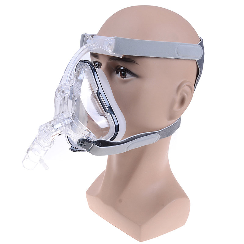 FM1 Full Face Mask For Snoring Apply To Medical CPAP BiPAP Silicone Gel Material Size S/M/L With Headgear Clip Facial Care Tool