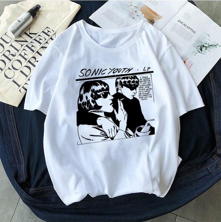 Goo Album Cover NEW Womens T-Shirt Sonic Youth white