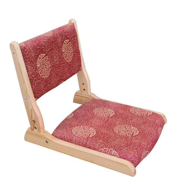 2pcs/lot)Japanese Tatami Chair Legs Foldable Fabric Padded Seat ...