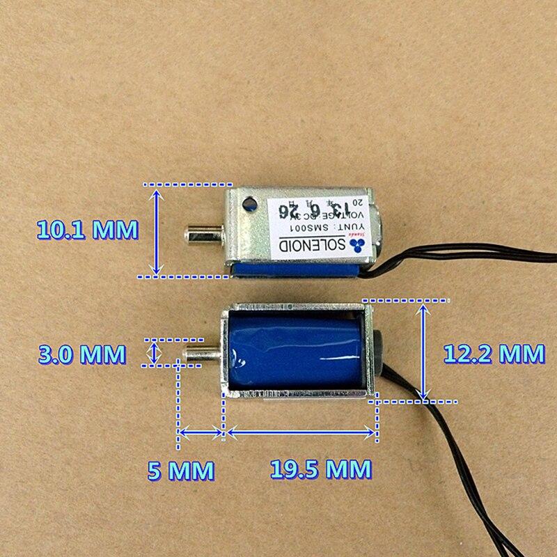 DC3V Mini Electric Solenoid Valve Air Exhaust Valve N/O Normally Open Micro Sphygmomanometer Monitor