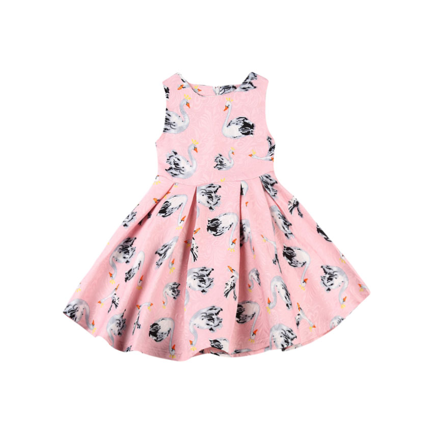 Flamingo Newborn Toddler Baby Girl Summer Dress Sleeveless Floral Cartoon  Princess Holiday Party Dresses Sundress Clothes-in Dresses from Mother    Kids on ... 0f7f96390350