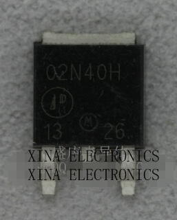 AP02N40H-HF 02N40H 02N40 APEC TO-252 ROHS ORIGINAL 20PCS/lot Free Shipping Electronics composition kit image
