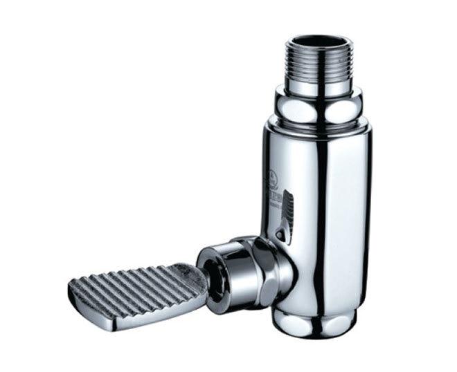CME time delay valve with pedal, sanitary foot stool flush valve T-01 flushometer
