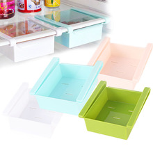 Sale 1PC Easy Cleaned Refrigerator Freshness Preservation Box Kitchen Storage Rack 2 Parallel Clips 5 Aleak Holes