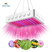 1000 Вт 2000 Вт Светодиодный светильник лампа панель для гидропонного выращивания растений полный спектр