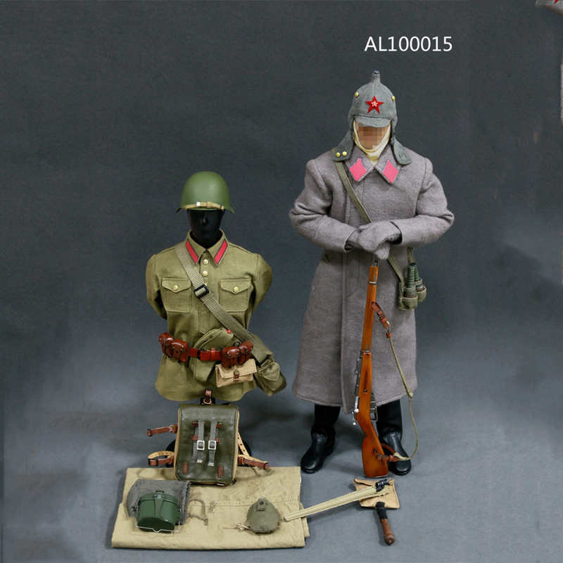 1/6 Scale WWII Soviet Red Army Infantry Equipment Set Male Soldier Clothes Set for 12 Inches Action Figures world war ii german wwii wehrmacht officer 1 6 soldier set model stanford erich vo gm637 for gift collection
