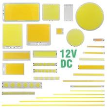 DC 12V 2w-200w round cob for DIY led cob lamp light emitting diode panel car bulb cob led bar strip chip source недорого