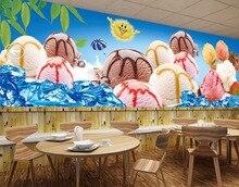3D Wall Print Decal Wall Murals Ice Cream