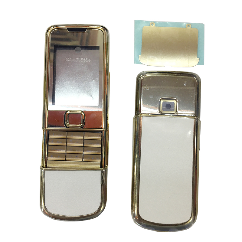 BINYEAE New Metal Full Housing For Nokia 8800A 8800 Arte Whole Housing With Logo