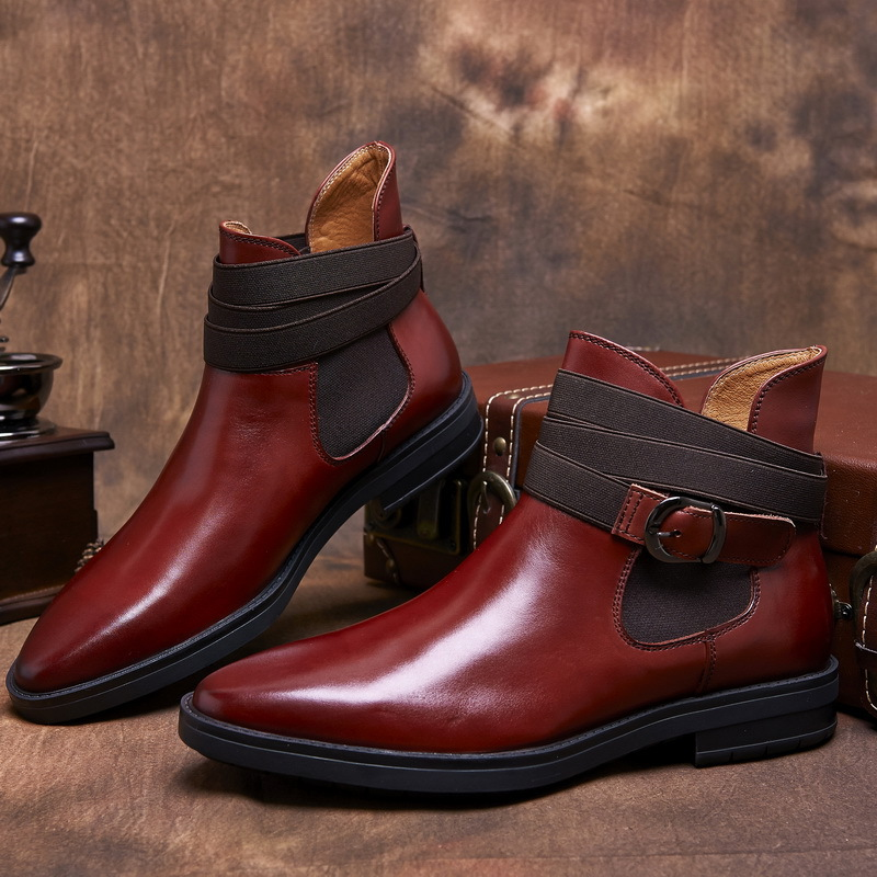 Mens Square Toed Dress Boots Promotion-Shop for Promotional Mens ...