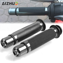 22mm Motorcycle Handle Grip CNC Aluminum Grips For Yamaha NMAX 125 155 XMAX 125 250 300 400 YZF R1 R3 R6 R15 R25 R125 YBR125 YBR поршень 125125 jym125 2 3 ybr125 125 yb125e
