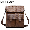 Marrant Genuine Leather bag men bags men's messenger small shoulder crossbody bags for man Handbags men's leather bag flap 2017