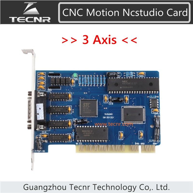 3 axis English version nc studio control card for cnc router with English version