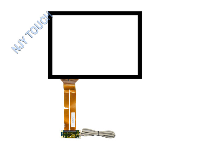 New 15 inch Projected Capacitive Touch Screen Panel 10 Points USB Controller Win 7,8