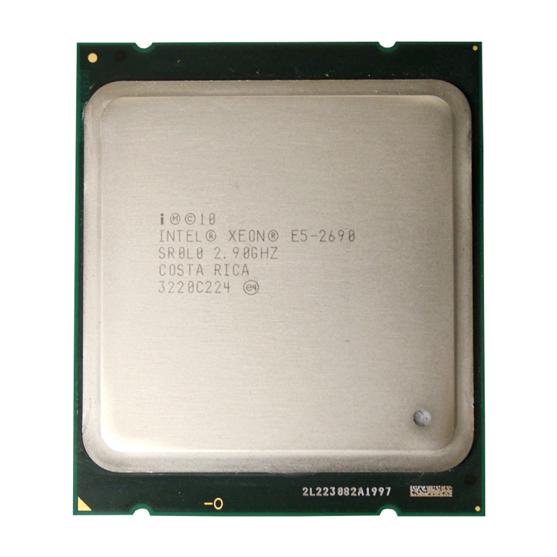 <font><b>Intel</b></font> <font><b>Xeon</b></font> Processor <font><b>E5</b></font> <font><b>2690</b></font> Eight Core 2.9G SROL0 C2 LGA2011 CPU PC Server Desktop Processor image