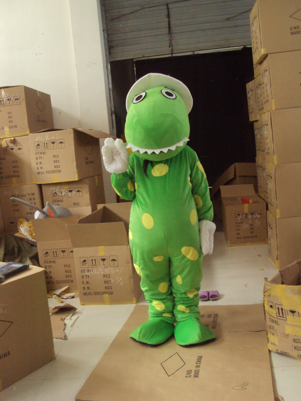 BING RUI CO зеленый дракон, талисман дизайн/дракон костюм талисмана/по индивидуальному заказу костюм дракона мех Динозавр талисман костюм для в