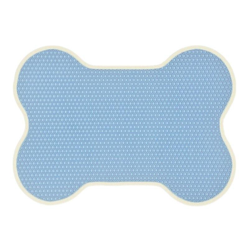 Waterproof Pet Cat Litter Mat Foldable Cats Bottom Non-slip Layer Catcher