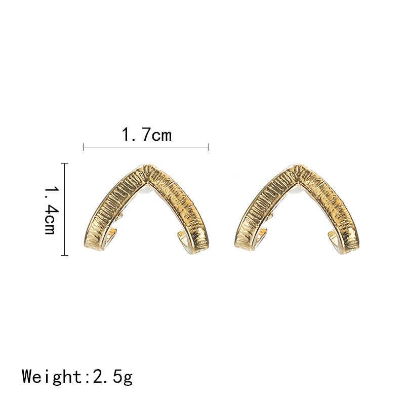 זהב צבע מקסים BUMBLE חרקים בצורת עגילי בעלי החיים תכשיטי עבור נשים ילדה מתנה משולש עגילי 4ED341