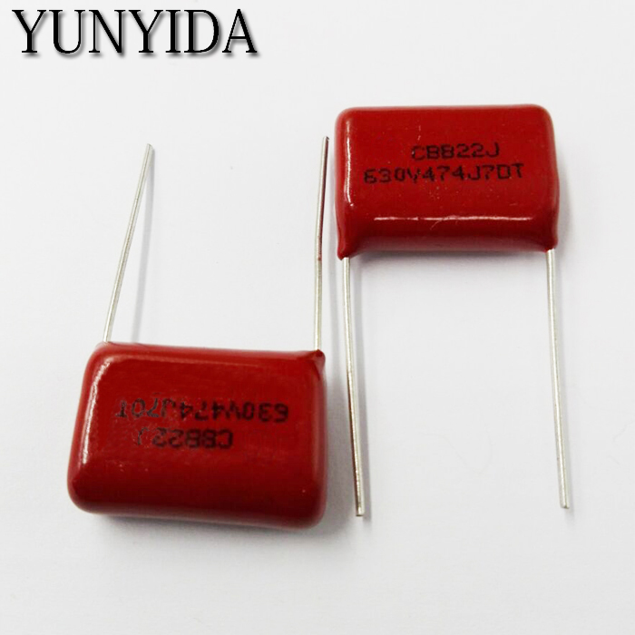 Free Shipping 10pcs, CBB 474J  630V  470NF  P20mm  Metallized Film Capacitor  474 630V  630V474J