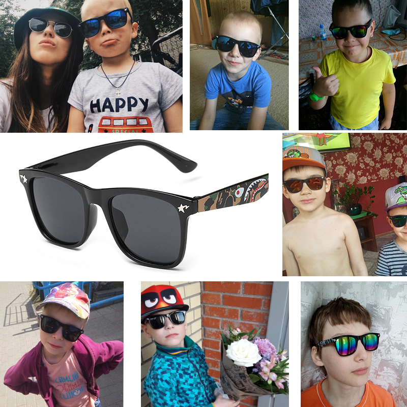 New Hot Kids Sunglasses Boys Baby Sunglasses Girls Children Glasses Sun Glasses For Boys Gafas De Sol 15604