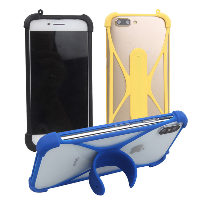 brand new 4c258 92444 US $2.34 31% OFF|EE Hawk Case Silicone Back Cover Holder Neck Strap Rubber  Case for EE Hawk 5 inch Phone Case Cover-in Phone Bumper from Cellphones &  ...