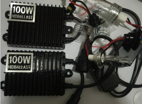 YY HID xenon kit 0,1 Sekunde Schnelle Helle 75w 100w 150w Auto Scheinwerfer Lampen für H1 H3 h7 H11 9005 9006 880 D2H 4300k 6000k 8000k - 2