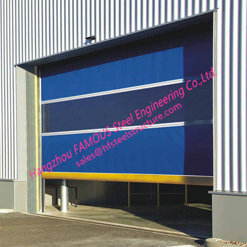 Insulated High Performance Factory Rolling Gate Industrial Lifting Doors For Warehouse Internal And External Use