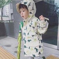 Fashion Waterproof Kids Raincoat Outdoor Poncho Cover Poncho Gear Rain Jacket Kids Suit Erkek Mont Regenjacke Rainwear 40A0089