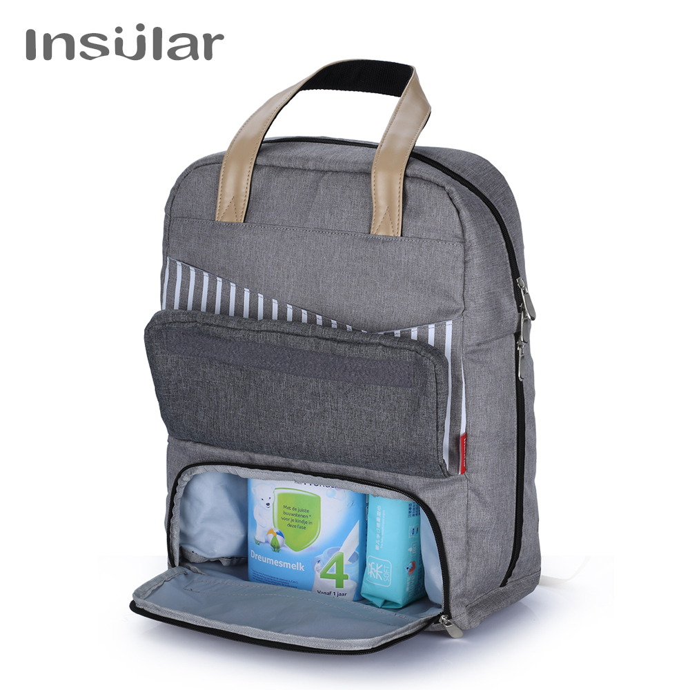 Insular Big Diaper Backpack Bags with Laptop Pocket Travel Mother Backpacks for Baby Care Dad Bag Mommy Maternity Backpack Insular Big Diaper Backpack Bags with Laptop Pocket Travel Mother Backpacks for Baby Care Dad Bag Mommy Maternity Backpack