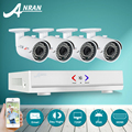 ANRAN 4CH CCTV System 720P HDMI AHD DVR 4PCS 1.0 MP IR Night Vision Outdoor Security Camera HD Video Surveillance System
