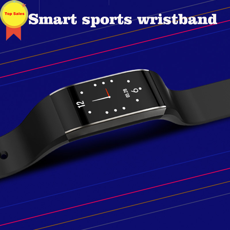 2019 Fitness Tracker Smart Bracelet watch band HR Fitness Sleep skype reminder  Waterproof IP67 Activity Tracker for Android IOS